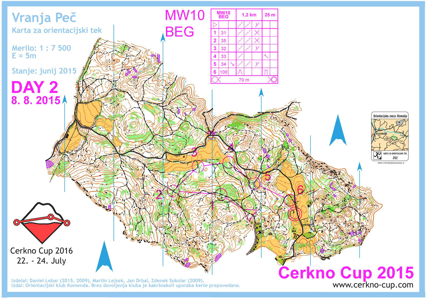 Cerkno Cup - 2015 - DAY 2 - MW10, BEG (08. 08. 2015)